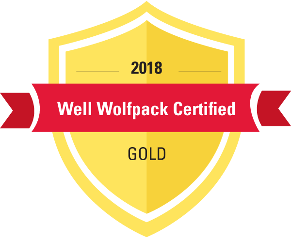 Gold Well Wolfpack Certified badge