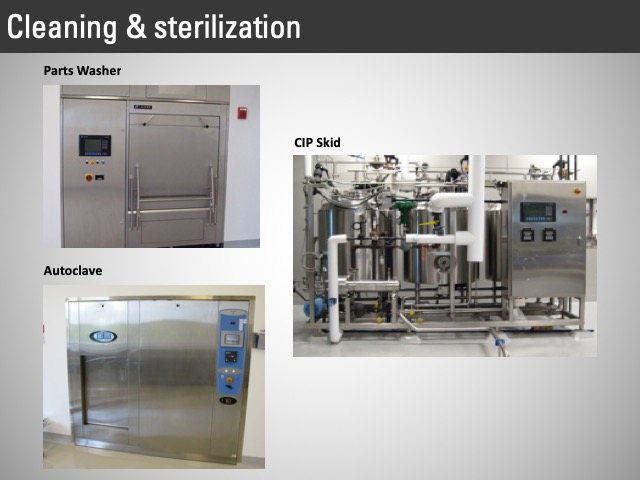 cleaning and sterilization