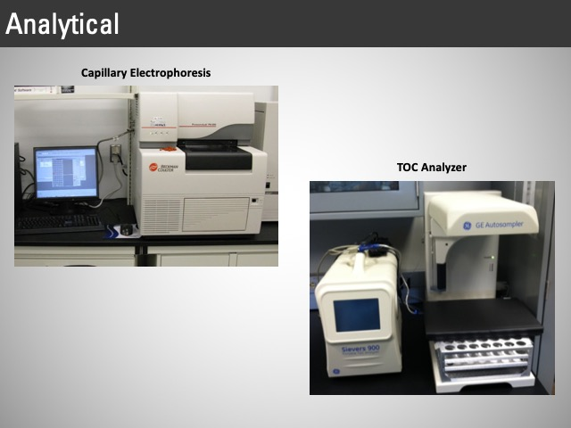 analytical electrophoresis, analyzer